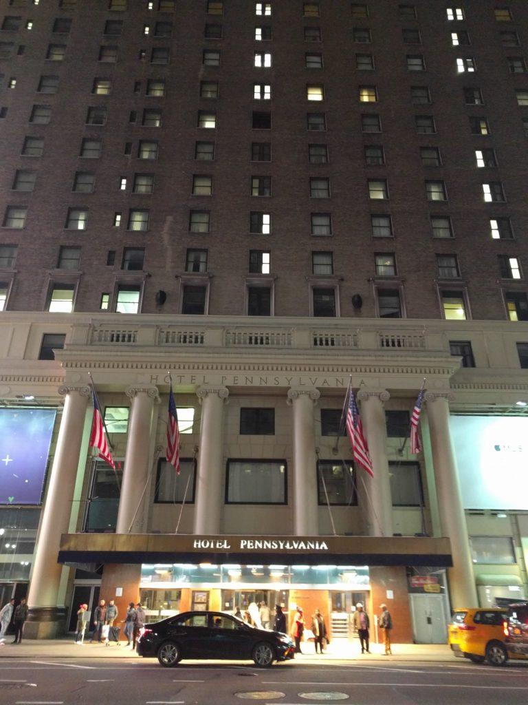 Exterior, Hotel Pennsylvania New York City