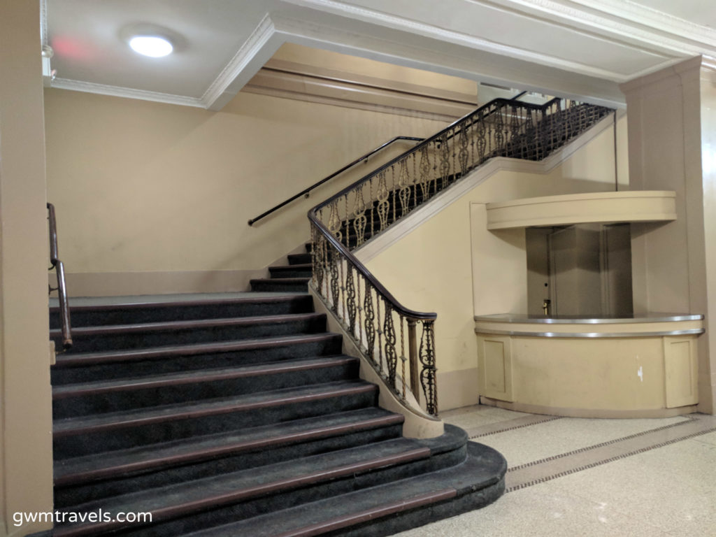 Ballroom Stairwell Hotel Pennsylvania New York City
