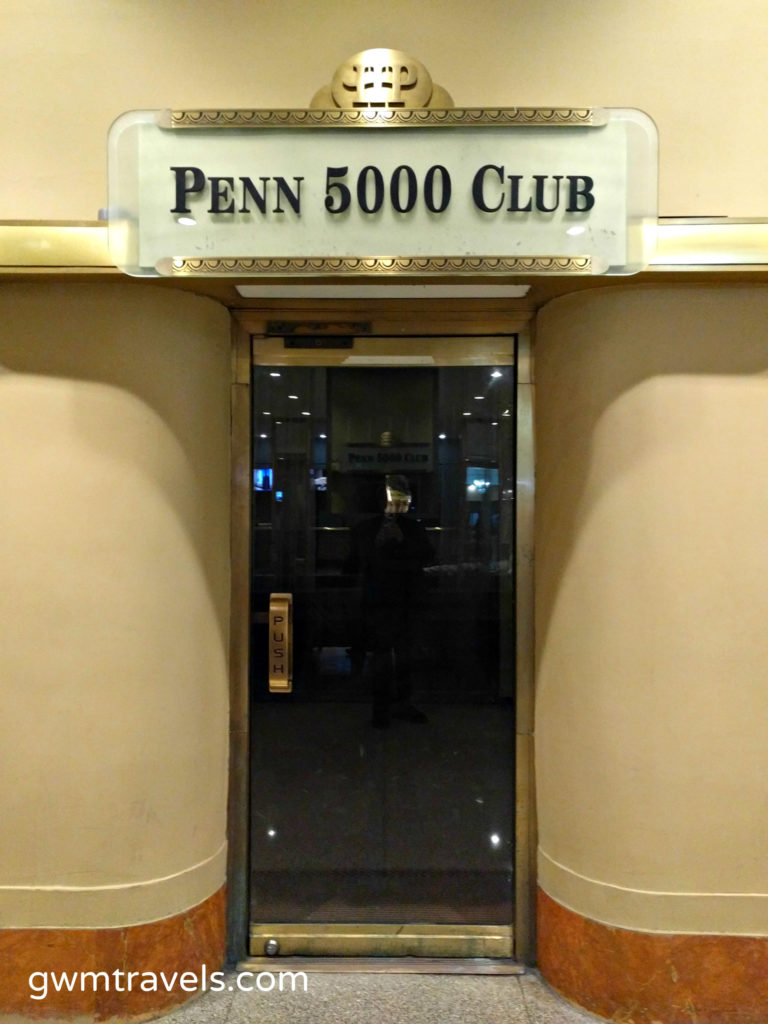 Entrance to the Penn 5000 Club Hotel Pennsylvania New York City